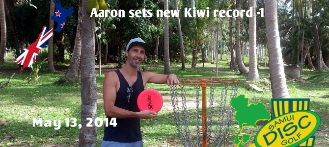 Aaron sets new Kiwi record -1