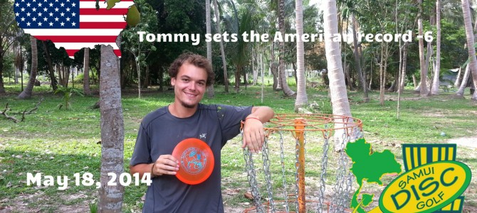 Tommy breaks the American record