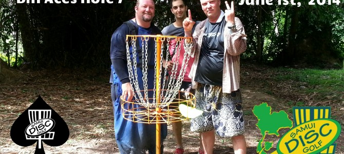 Bill Aces Hole 7
