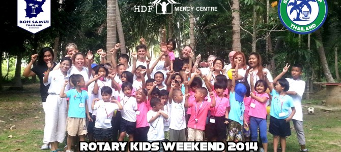 Mercy Centre Kids come to Samui Disc Golf